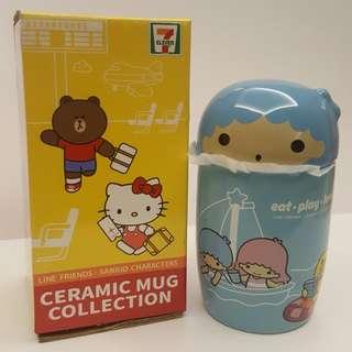 7-11 Singapore Line Friends Sanrio Characters Ceramic Mug Collection>kiki