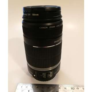 Canon zoom lens EF-S 55-250mm 1:4-.56 image stabilizer