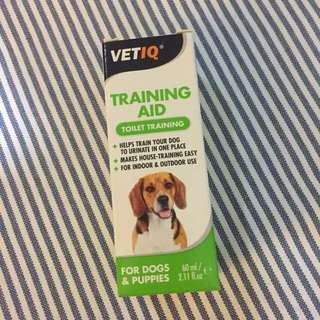 Dogs and Puppies toilet training spray