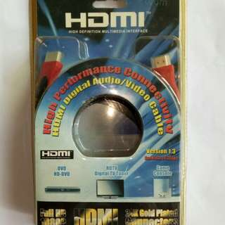 Hdmi cable still in package