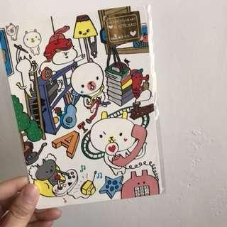🚚 藝舍明信片/卡貼