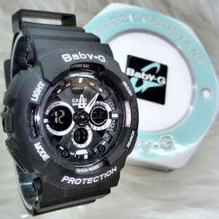 BABY-G DUAL TIMES WOMEN LIMITED EDITION WATCH(2)