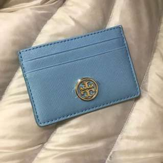 Tory Burch card case limited version baby blue