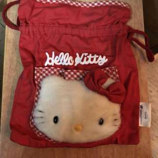 Hello kitty cloth bag since 1995