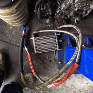 Oil cooler 10 rows