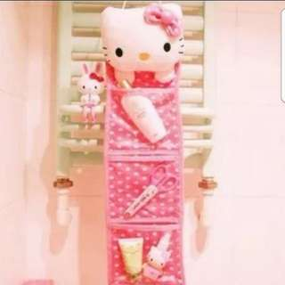Instock Hello Kitty Wall Hanging Display Cum Storage 16 × 53cm