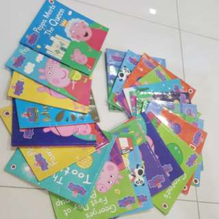 Each PEPPA PIG story book (total 21)
