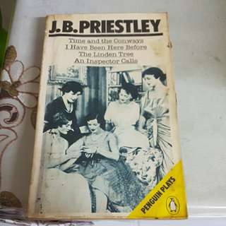 J.B. Priestley Plays