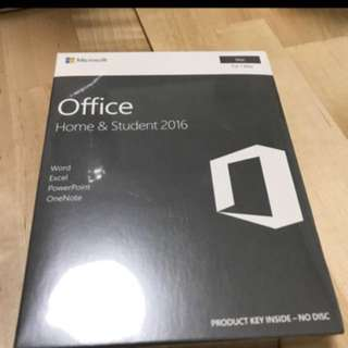 Microsoft Office Home & Student 2016 Life Time
