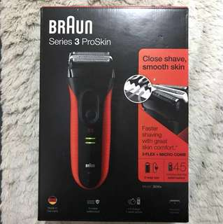 BRAUN S3 ProSkin Shaver Model 3030s 百靈牌親膚系列電鬚刨