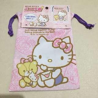 Hello Kitty 收納索袋