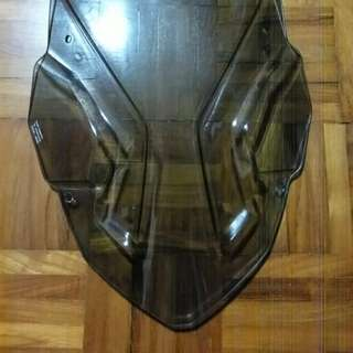Puig Touring Windshield Africa Twin Light Smoke