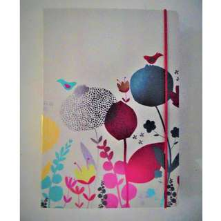 Flowers and Birds Notebook