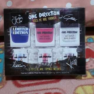 Make Up by One Direction Rock Me Nail Varnish