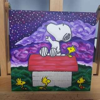 Snoppy Painting-Valentine
