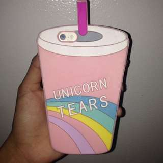 unicorn tears iphone 5, 5S case