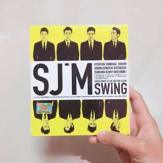 SJ-M 3rd MINI ALBUM 【SWING】