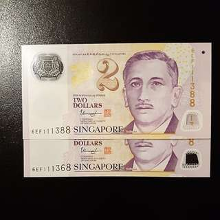 Fancy number notes