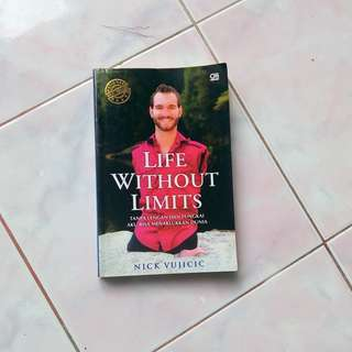 National Best Seller Life Without Limits by Nick Vujicic