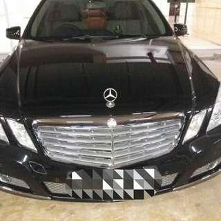 Dijual cepat Mercedes Benz E 250 CGI
