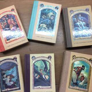 REPRICED / SALE A Series of Unfortunate Events Complete Set