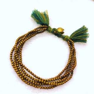 小銅珠流蘇手繩