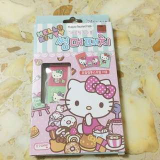 BNIB Hello kitty mosquito repellent patch ( made in korea )