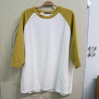 韓製個性風長袖上衣