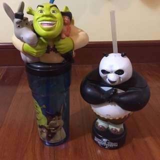 Universal Studios Singapore Drink Straw Cups