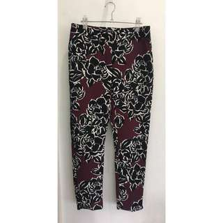 Warehouse Printed Floral Trousers