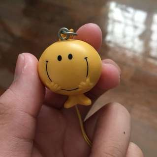 Mr Happy Keychain