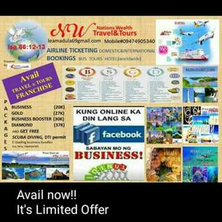 Travel and Tour Franchise