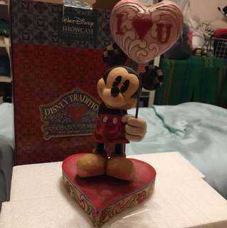 Disney showcase collection wooden craft