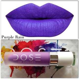 Dose Of Colors Matte Liquid Lipstick (Purple Rain)