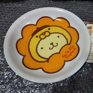 Pon de Lion x pompompurin 波堤獅 獅子 mister donut 咖喱飯碟 plate