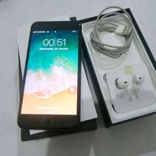 Iphone 7 plus second 128Gb Jetblack Fullset