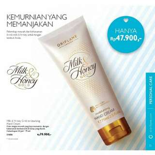 Milk&honey hand cream