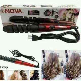 Hair curler&straightening