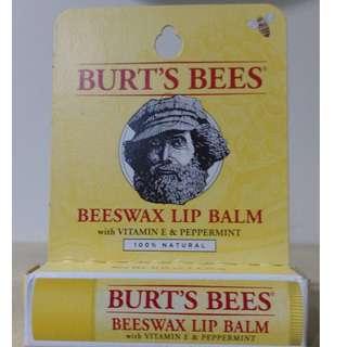 BURT'S BEES -蜜蜂爺爺 蜂蠟護唇膏 0.15oz/4.25g (有中文標)