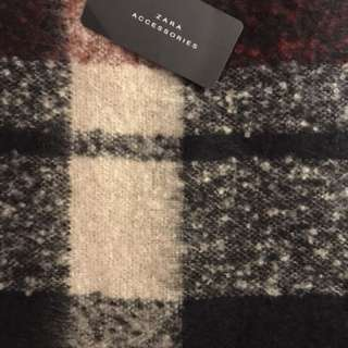 Zara blanket scarf new with tags