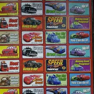 Disney Cars and Handy Manny Reward Stickers #huat50sale