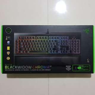 BNIB Razer Blackwidow Chroma V2