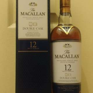 Macallan 麥卡倫 Double Cask 12 Years Single Malt Whisky 700ml