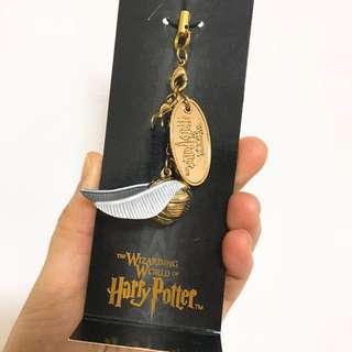 harry potter hogwarts 金探子 掛飾 購自日本usj