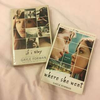 If I stay & Where she went