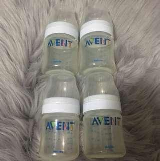 4oz Avent Feeding Bottles