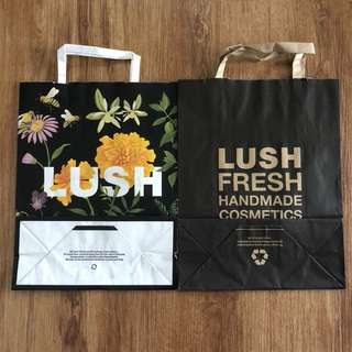 Semi luxury paper bags 👜👛 per pcs