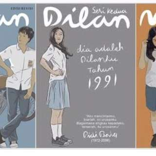 Ebook 3 Novel Dilan