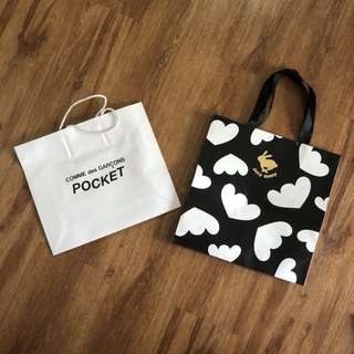 Cdg,etc.(luxury paper bags!!)