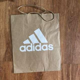 Mcd,adidas, takashimaya paperbags